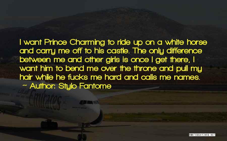 A White Horse Quotes By Stylo Fantome