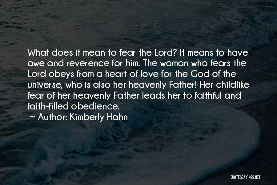 A Woman's Heart And God Quotes By Kimberly Hahn