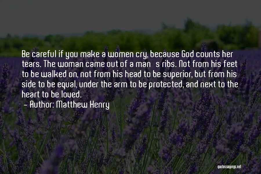 A Woman's Heart And God Quotes By Matthew Henry