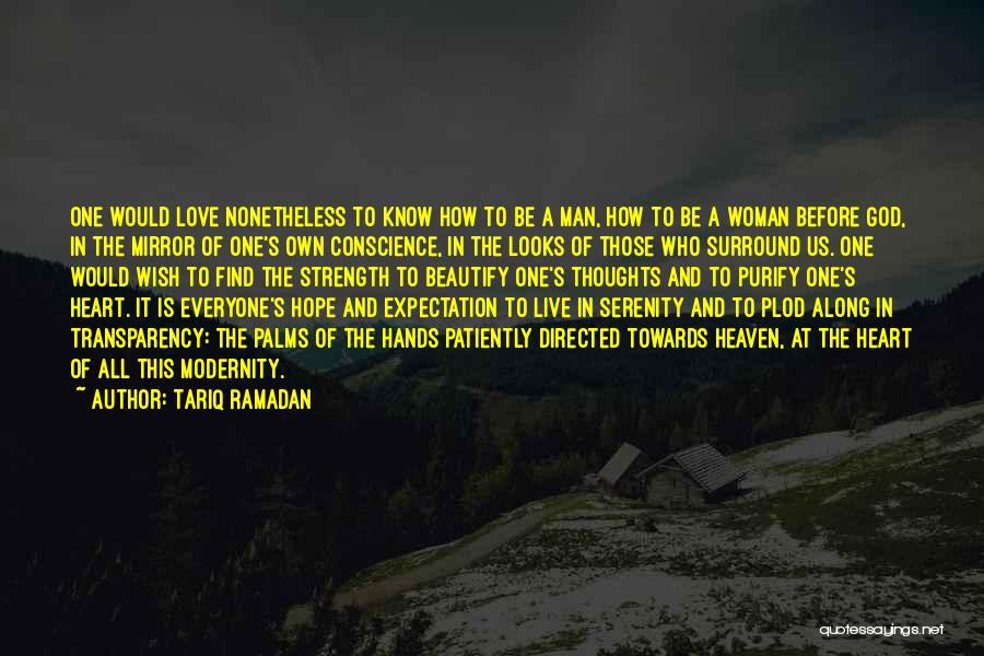 A Woman's Heart And God Quotes By Tariq Ramadan