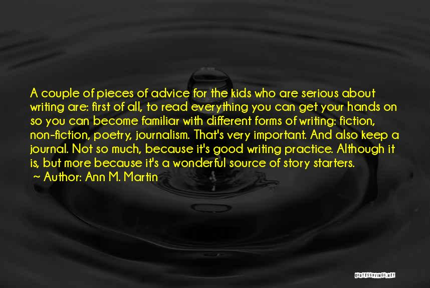 A Wonderful Couple Quotes By Ann M. Martin