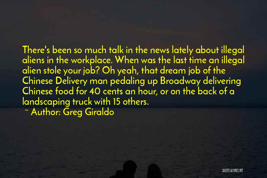 A Workplace Quotes By Greg Giraldo