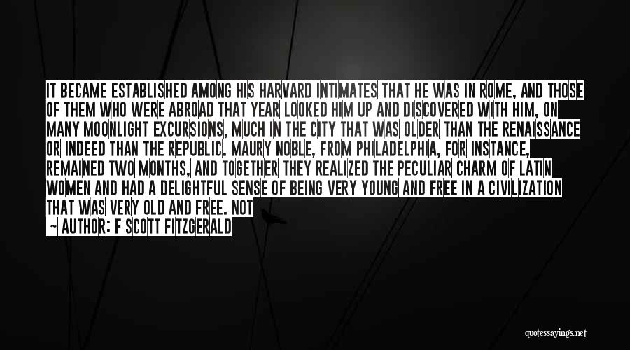 A Year Abroad Quotes By F Scott Fitzgerald
