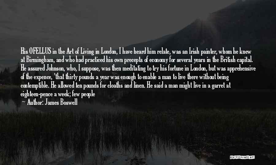 A Year Abroad Quotes By James Boswell
