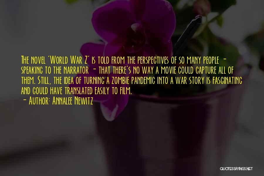 A-z Movie Quotes By Annalee Newitz