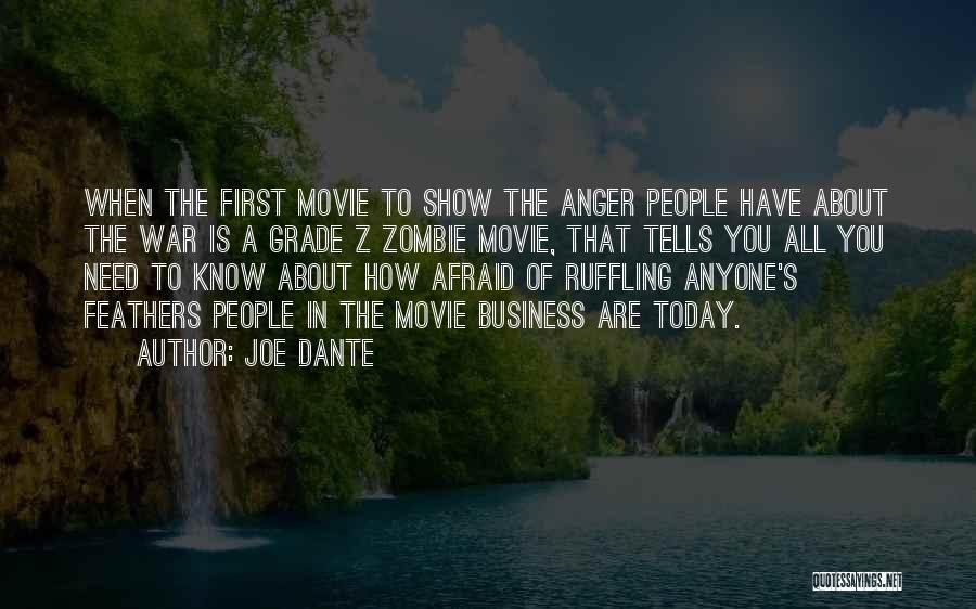 A-z Movie Quotes By Joe Dante