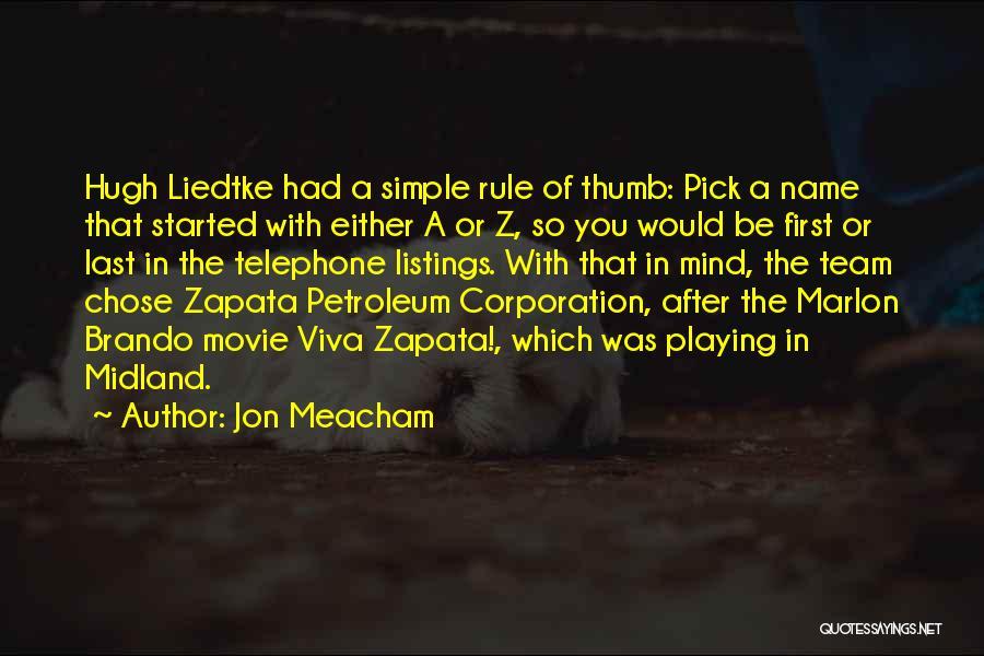 A-z Movie Quotes By Jon Meacham