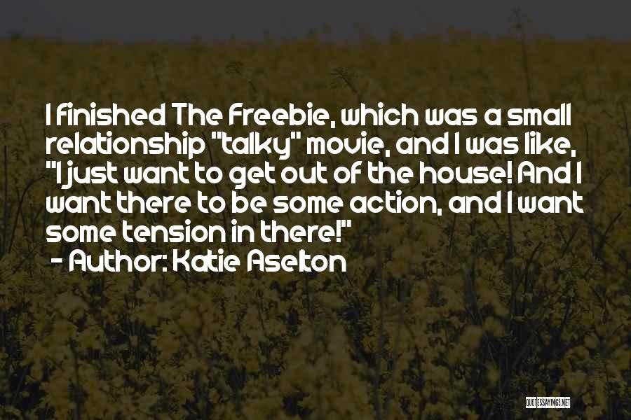 A-z Movie Quotes By Katie Aselton