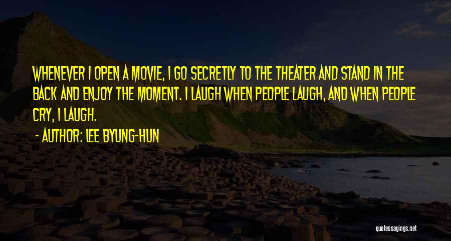 A-z Movie Quotes By Lee Byung-hun