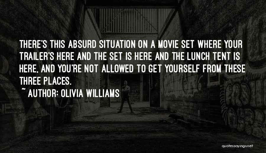 A-z Movie Quotes By Olivia Williams