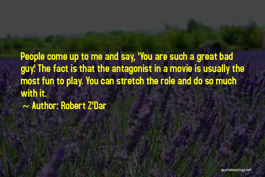 A-z Movie Quotes By Robert Z'Dar