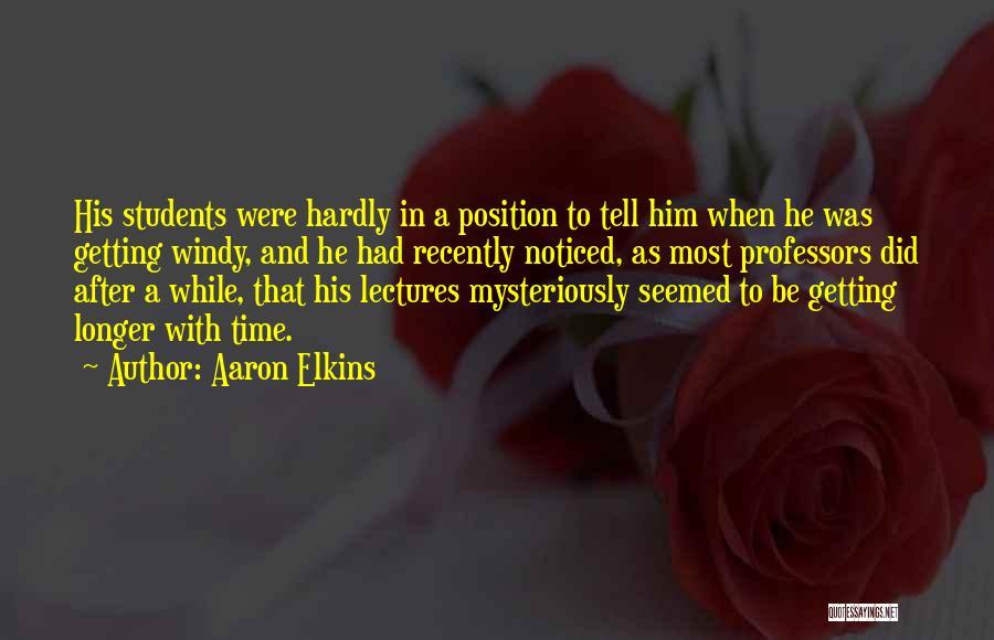 Aaron Elkins Quotes 1986208