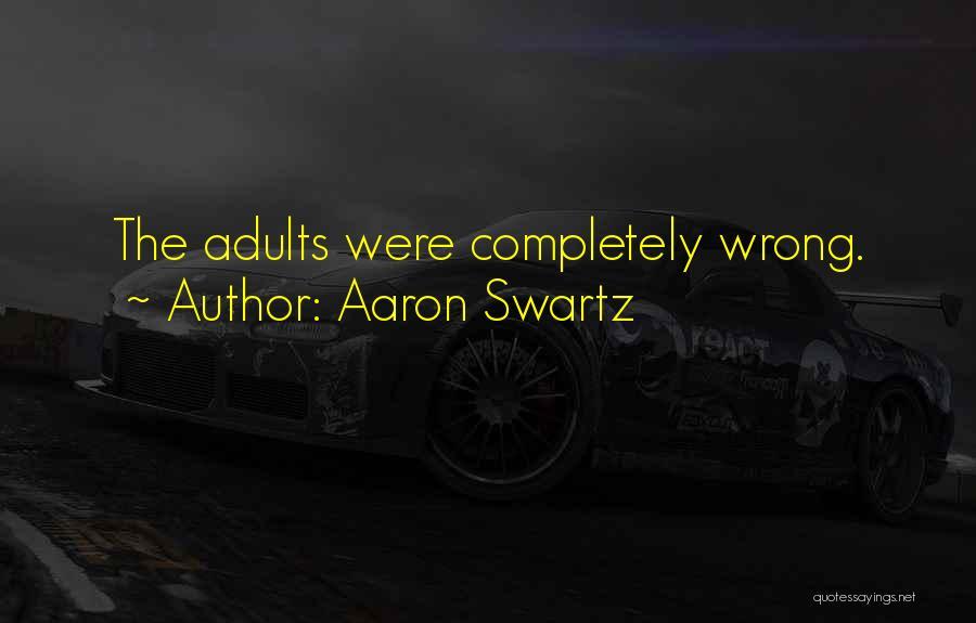 Aaron Swartz Quotes 1193217