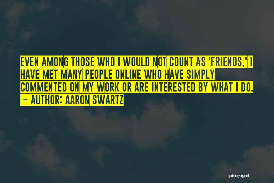 Aaron Swartz Quotes 1673283