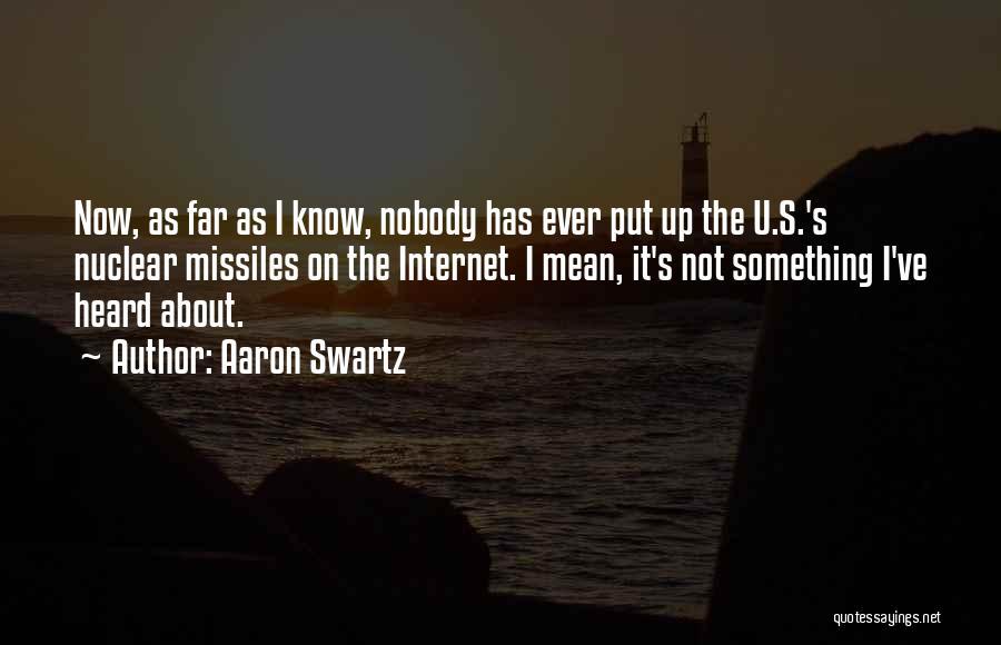 Aaron Swartz Quotes 1755152