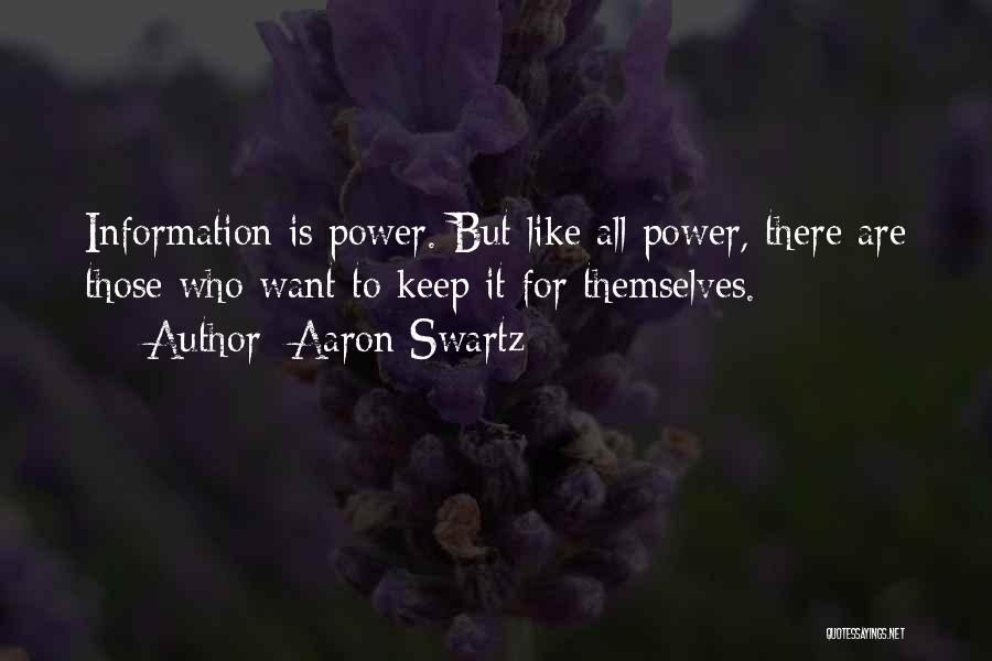 Aaron Swartz Quotes 1885692