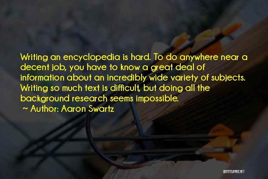 Aaron Swartz Quotes 2221653