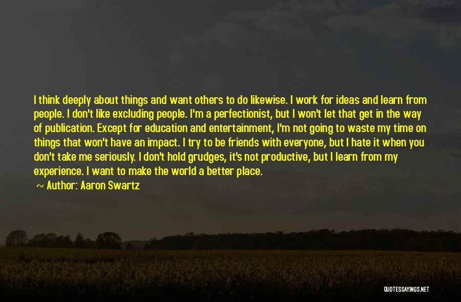 Aaron Swartz Quotes 851731