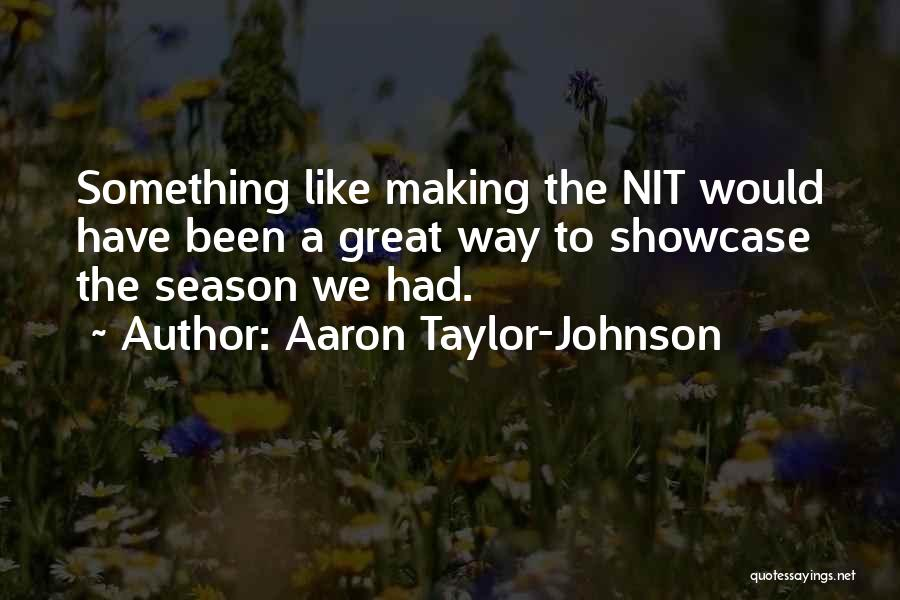 Aaron Taylor-Johnson Quotes 1252911