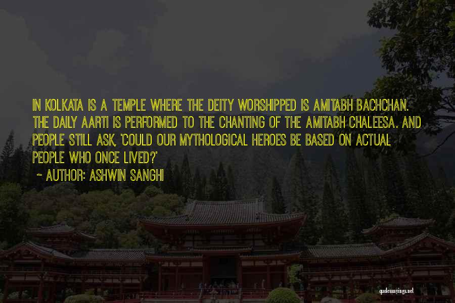 Aarti Quotes By Ashwin Sanghi