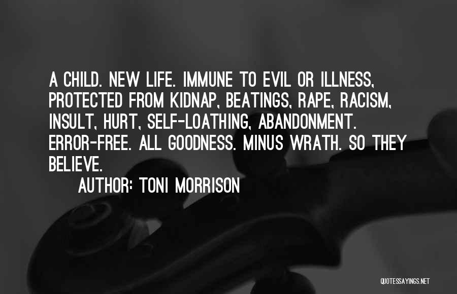 Abandonment Of A Child Quotes By Toni Morrison
