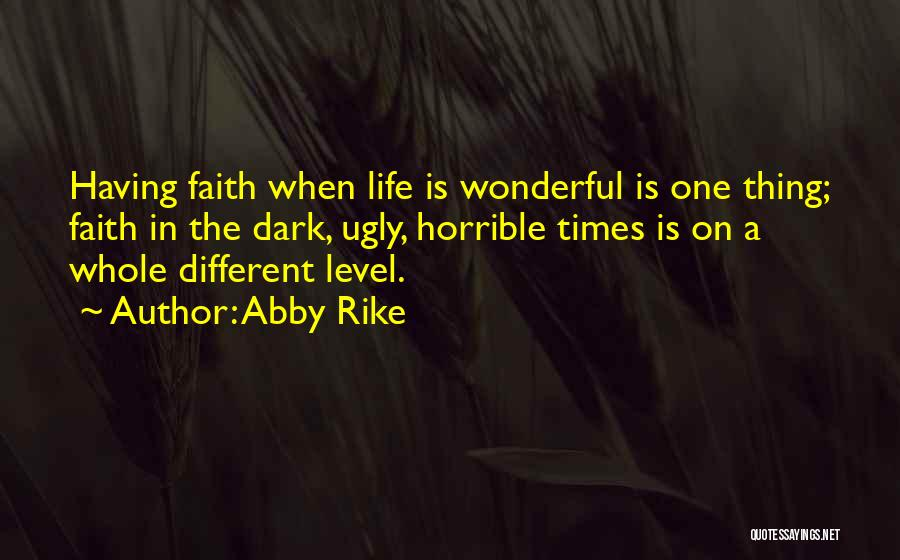 Abby Rike Quotes 1667396