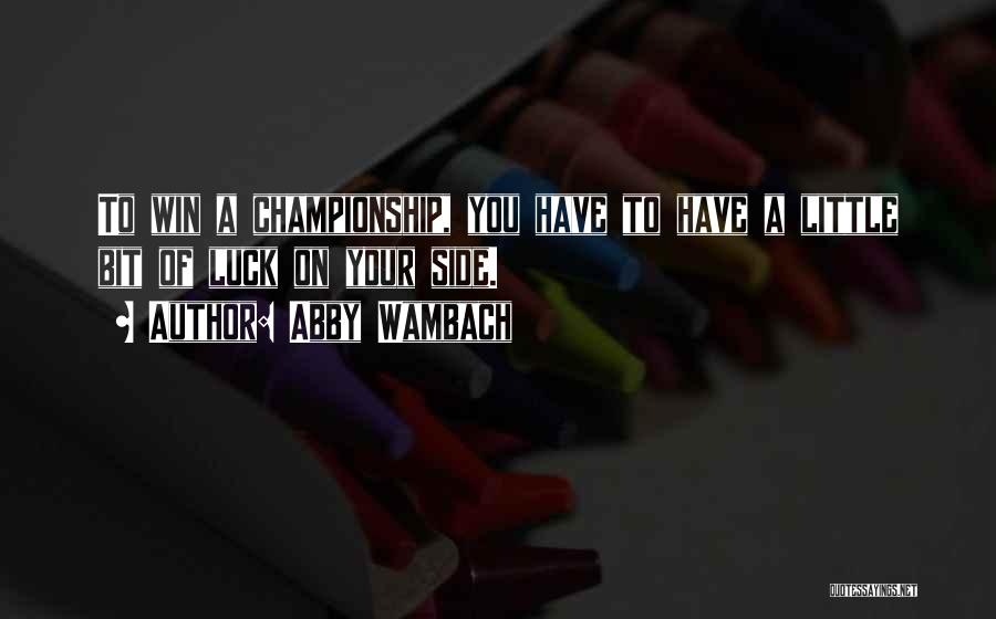Abby Wambach Quotes 102020
