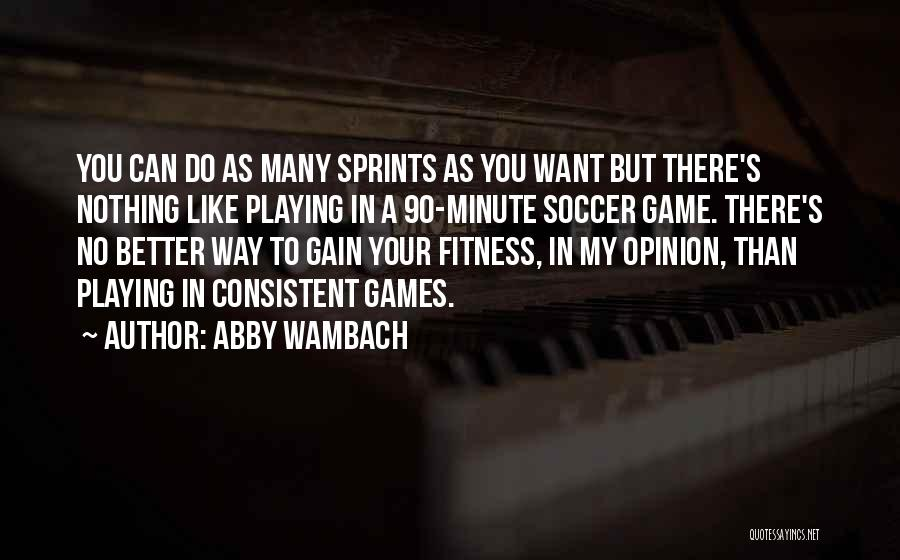 Abby Wambach Quotes 1084390