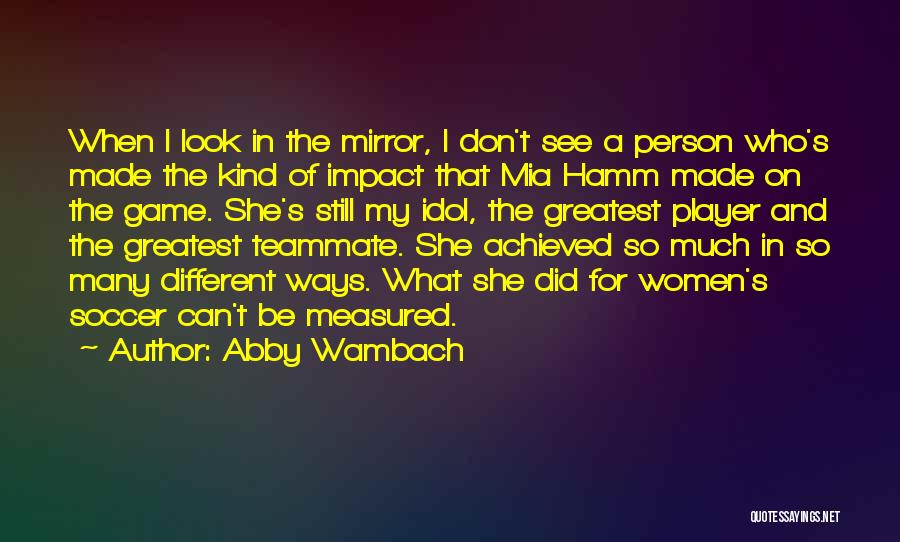 Abby Wambach Quotes 1443023
