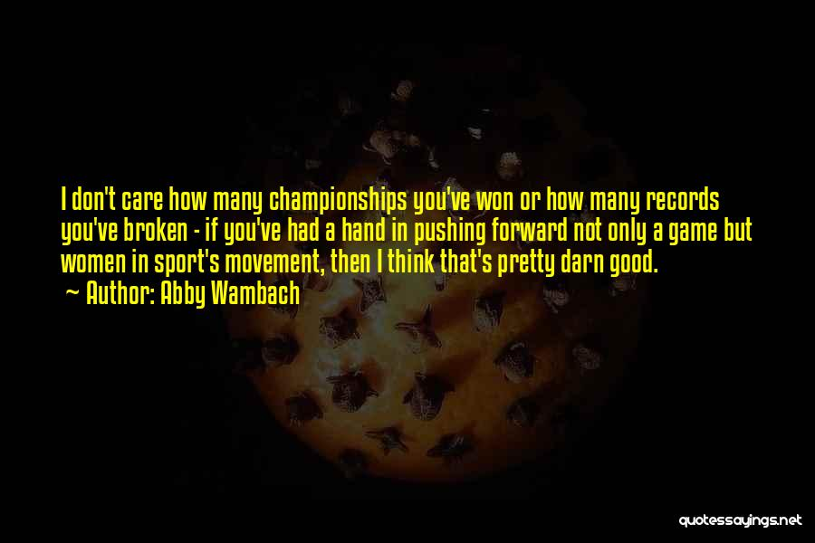 Abby Wambach Quotes 2160305