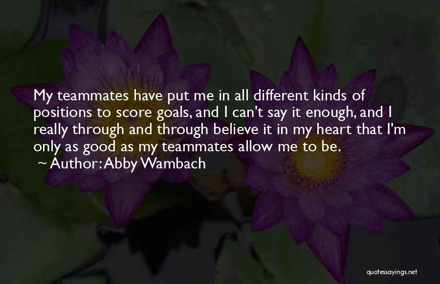 Abby Wambach Quotes 660688