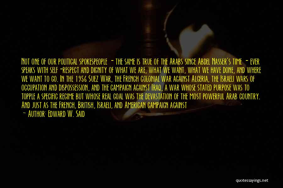 Abdel Nasser Quotes By Edward W. Said