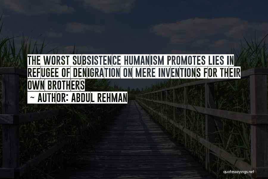 Abdul Rehman Quotes 1950864