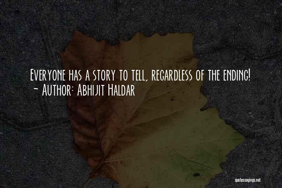 Abhijit Haldar Quotes 1110683