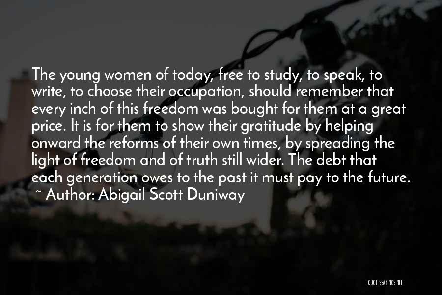 Abigail Scott Duniway Quotes 274967