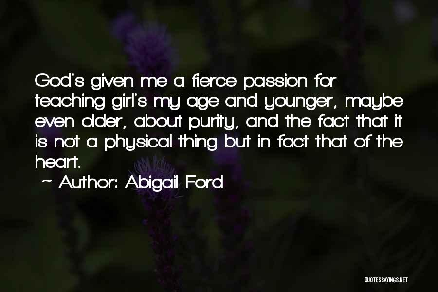 Abigail's Quotes By Abigail Ford