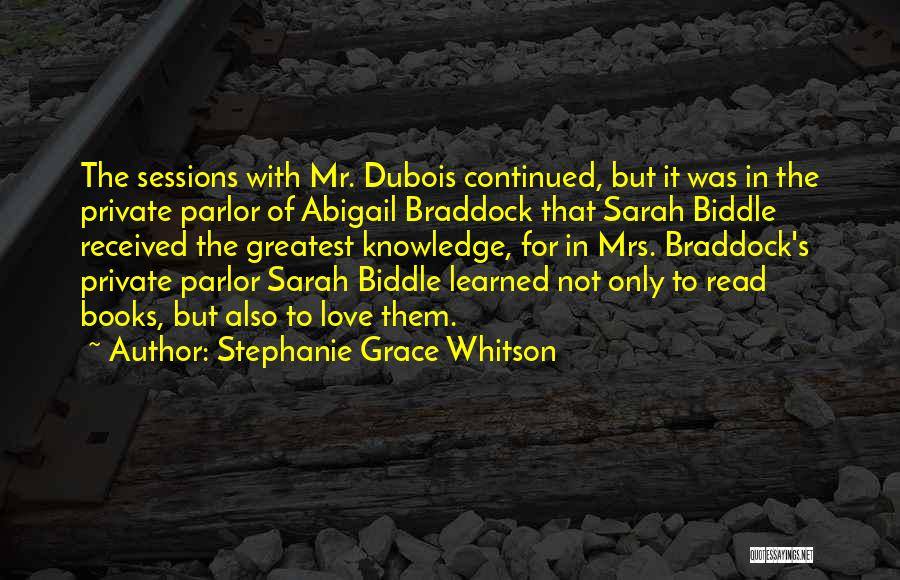 Abigail's Quotes By Stephanie Grace Whitson