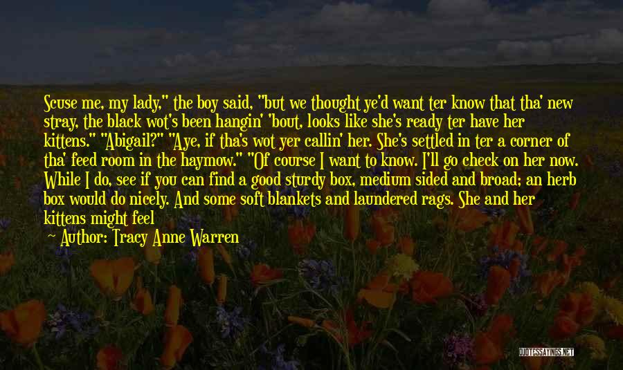 Abigail's Quotes By Tracy Anne Warren