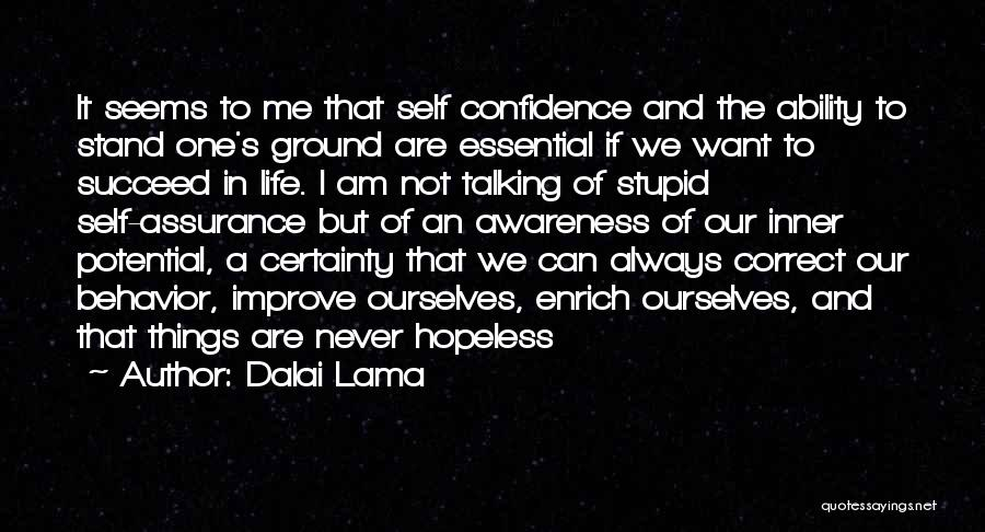 Ability To Succeed Quotes By Dalai Lama