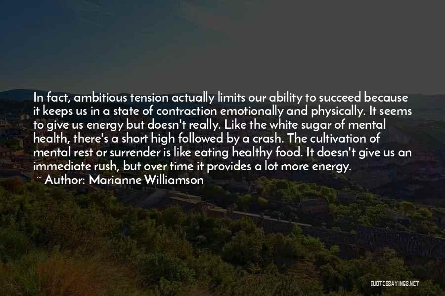 Ability To Succeed Quotes By Marianne Williamson