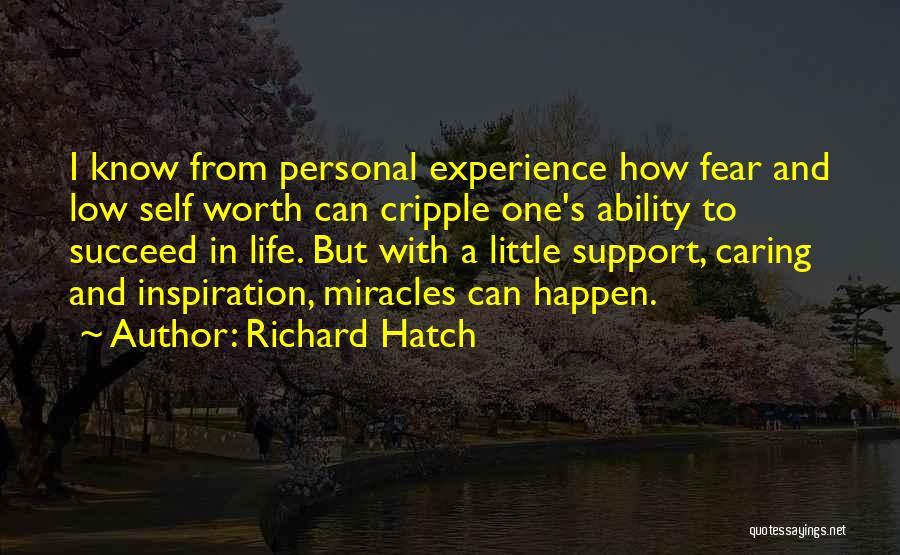 Ability To Succeed Quotes By Richard Hatch