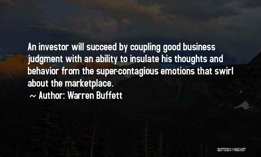 Ability To Succeed Quotes By Warren Buffett