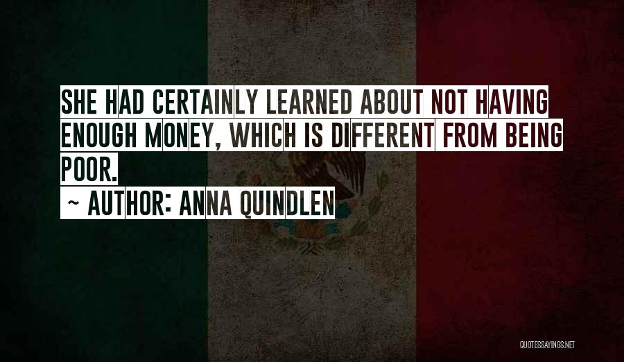 About Being Different Quotes By Anna Quindlen
