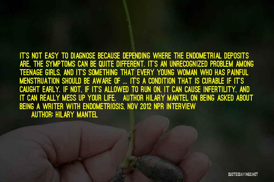 About Being Different Quotes By Hilary Mantel