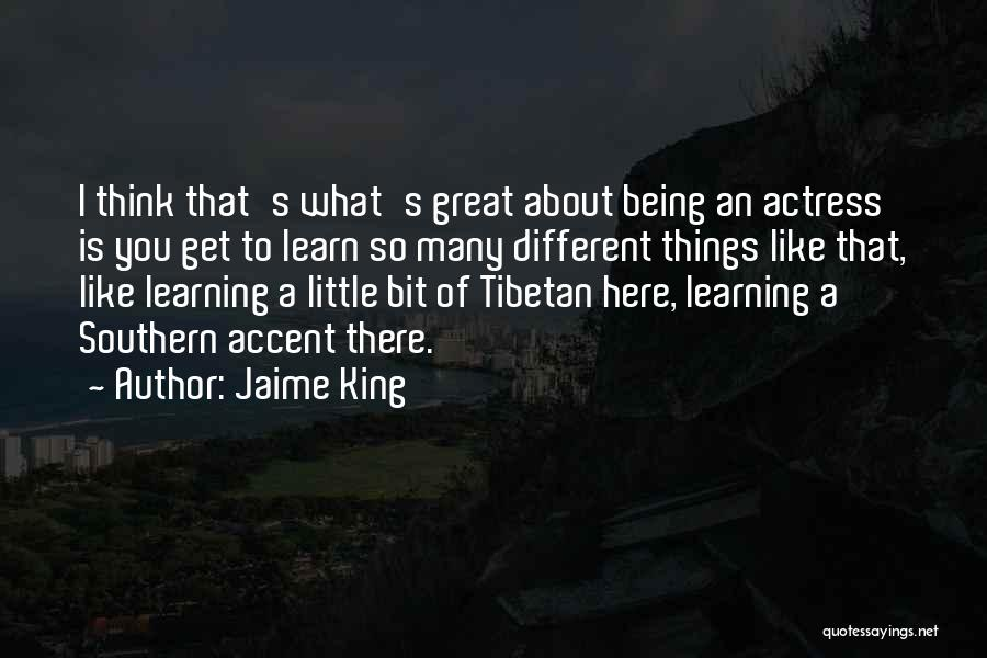 About Being Different Quotes By Jaime King