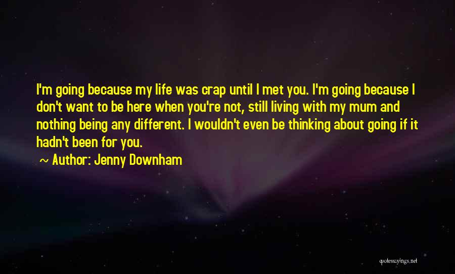 About Being Different Quotes By Jenny Downham