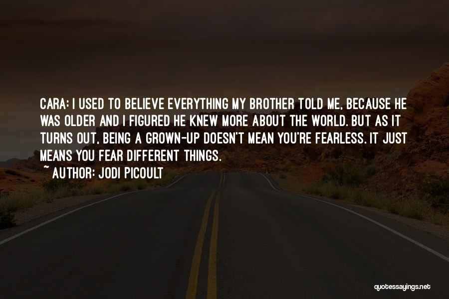 About Being Different Quotes By Jodi Picoult