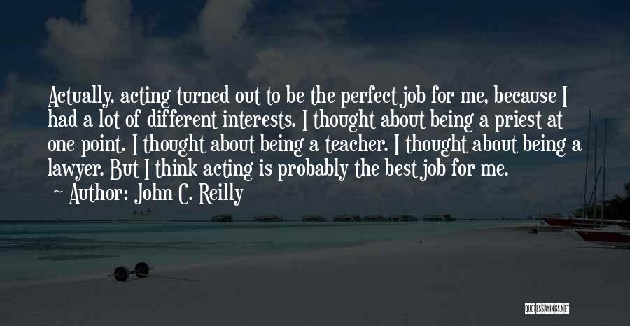 About Being Different Quotes By John C. Reilly