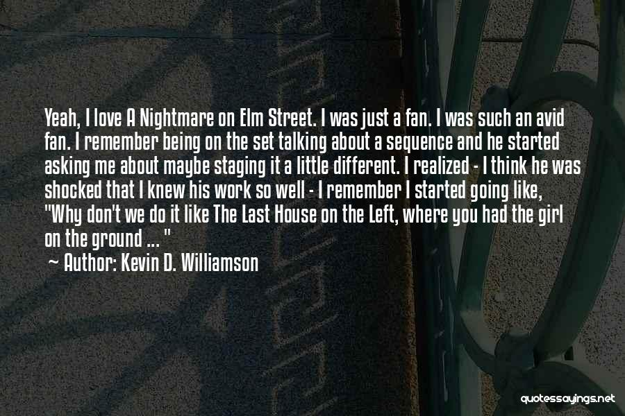 About Being Different Quotes By Kevin D. Williamson