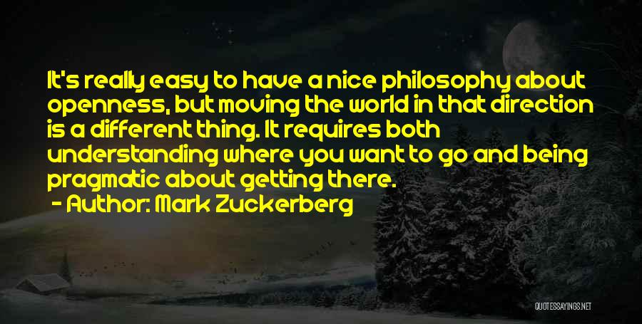 About Being Different Quotes By Mark Zuckerberg